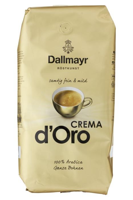 Dallmayr Crema d'Oro koffiebonen 1Kg (1kg)