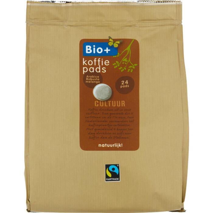 Bio+ Koffiepads Dutch roast (24 × 167g)
