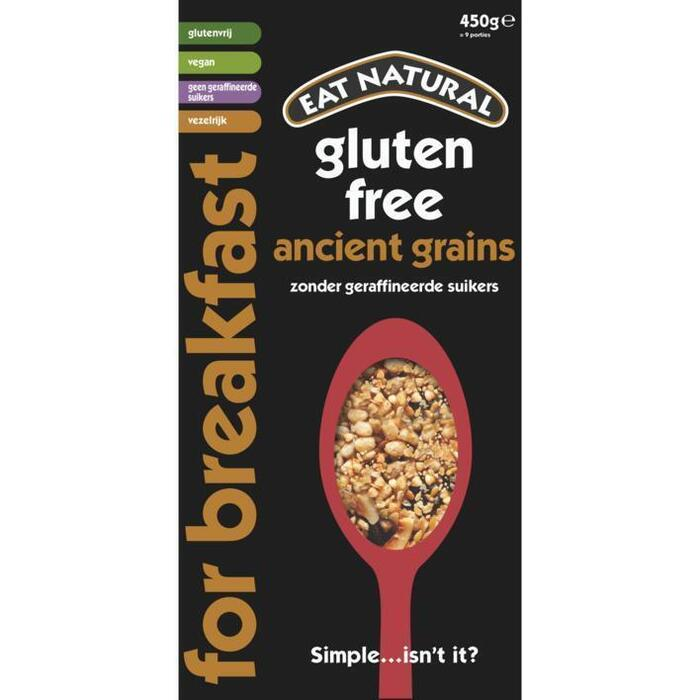 Eat Natural Ancient grains glutenvrij (450g)