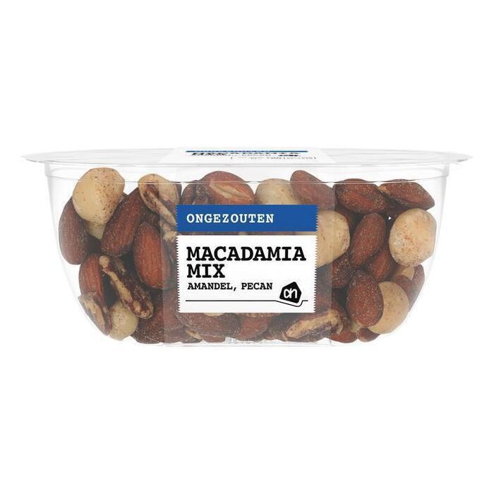 AH Mix macadamia pecan amandel ongezouten (150g)