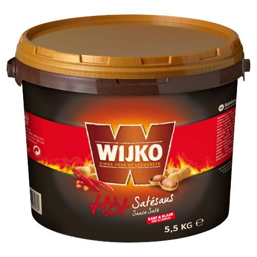 Wijko Satesaus Kant & Klaar Hot (5.5kg)