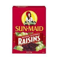 Sunmaid raisins bag in box 250g (250ml)