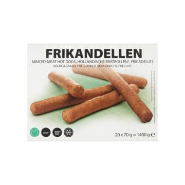 Frikandellen (doos, 20 × 70g)