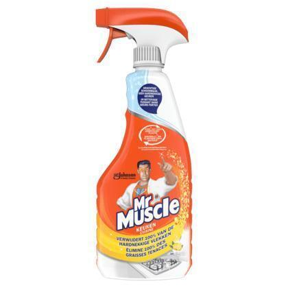 Mr Muscle Keukenreiniger lemon spray (0.5L)