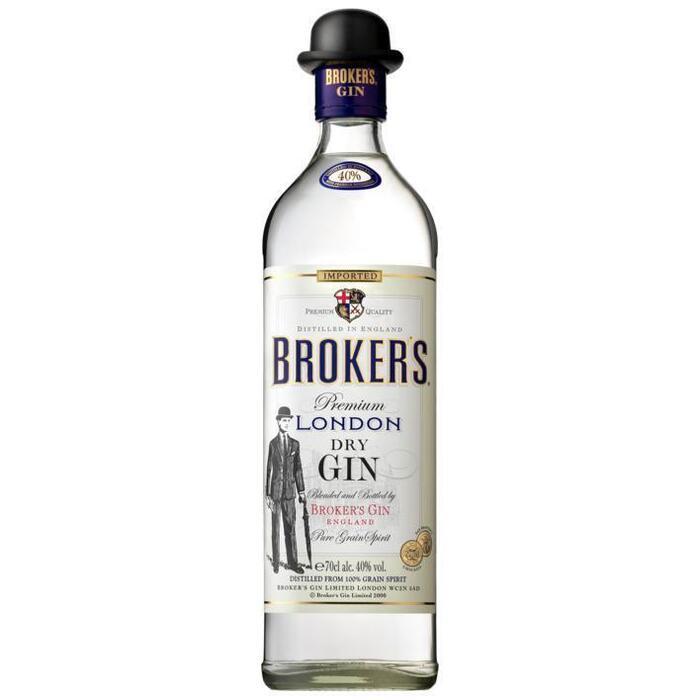 Broker's Premium London dry gin (rol, 0.7L)