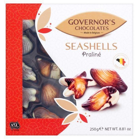 Governor's Chocolate Zeevruchten UTZ 250grm (250g)