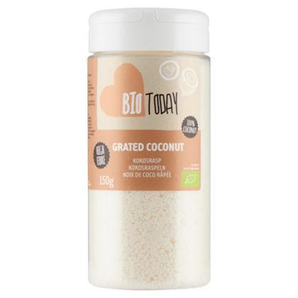 100% Organic Kokosrasp (Stuk, 150g)