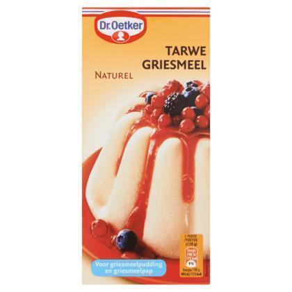 Tarwegriesmeel Naturel (doos, 500g)