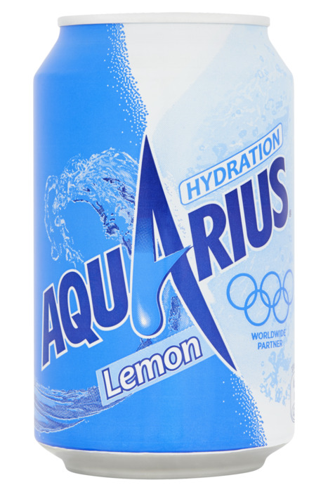 Aquarius Lemon Blik 0.33L 1x (33cl)