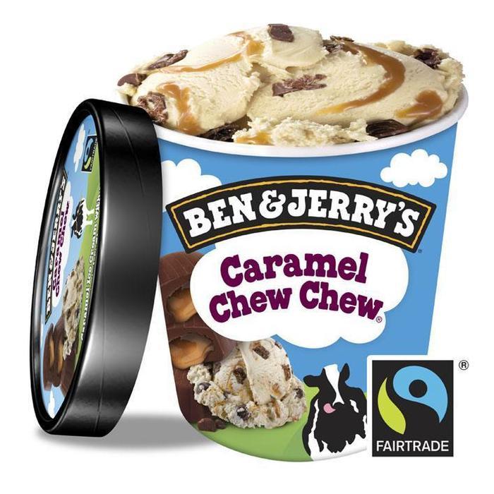 Ben & Jerry's IJs caramel chew chew (bak, 150ml)
