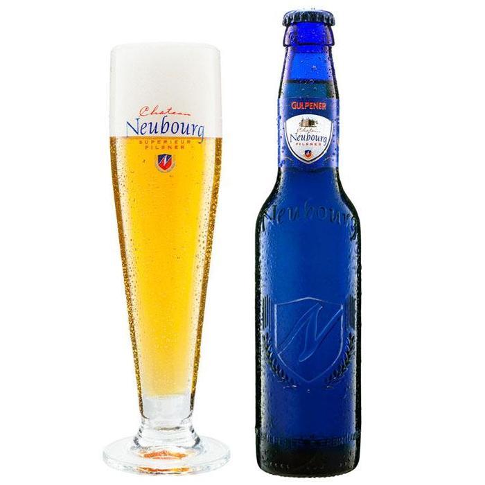 Neubourg Pilsener (glas, 33cl)