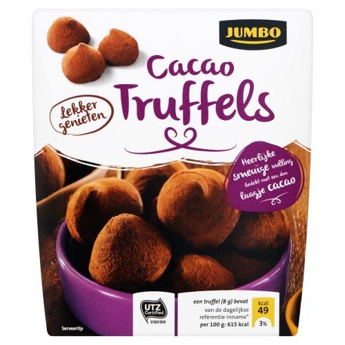 Jumbo Cacao Poeder Truffels 200g (200g)