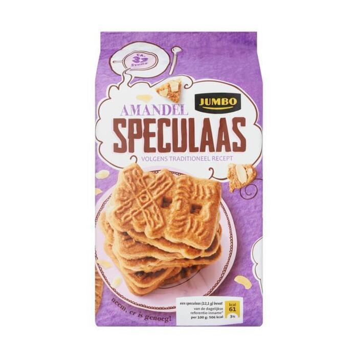 Jumbo Amandel Speculaas 400g (400g)