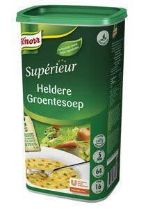 Knorr Supérieur Heldere Groentesoep (fles, 6 × 880g)