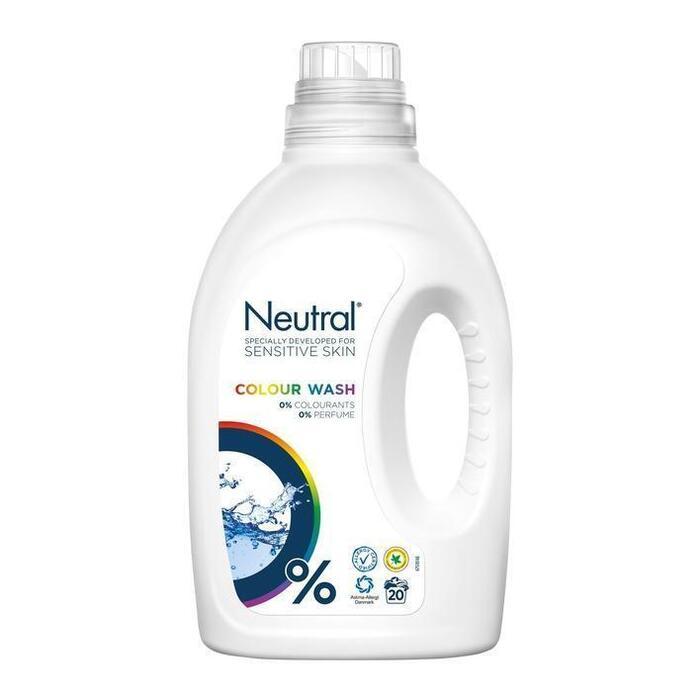 Neutral Wasmiddel Kleur Parfumvrij 1L (1L)