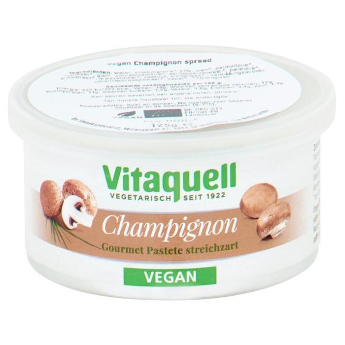 Vitaquell Vegan Champignon Spread 125 g (125g)