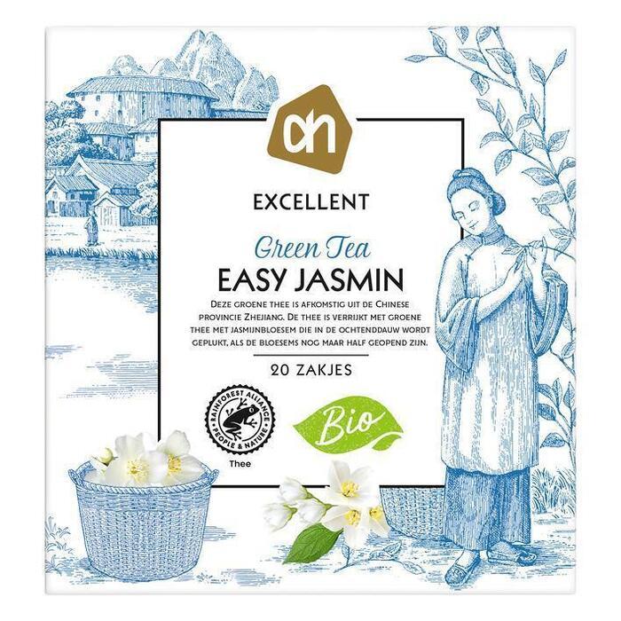 AH Excellent Groene tea easy jasmin