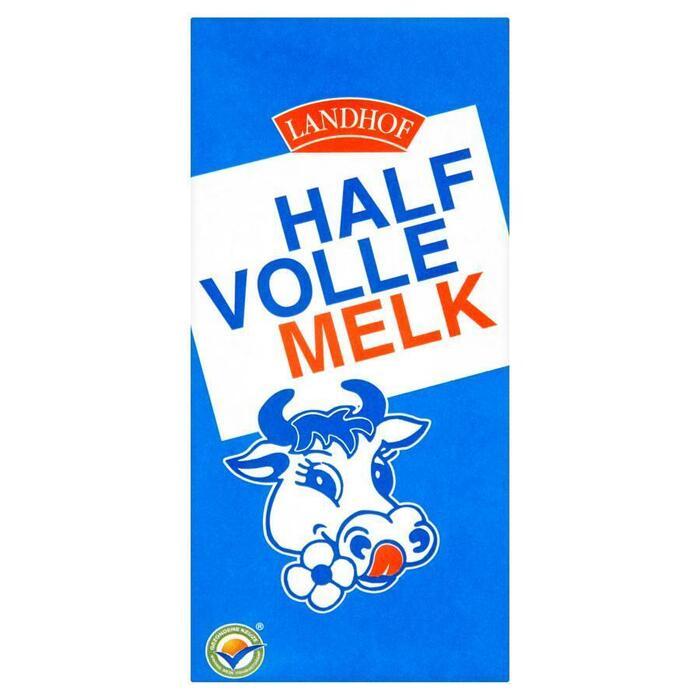 Landhof Halfvolle melk (1L)