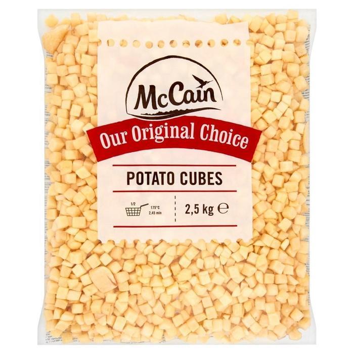 MCCAIN OUR ORIGINAL CHOCIE POTATO CUBES (2.5kg)