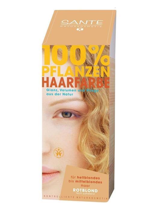 Haarkleuring Roodblond/Rotblond SANTE 100g (100g)