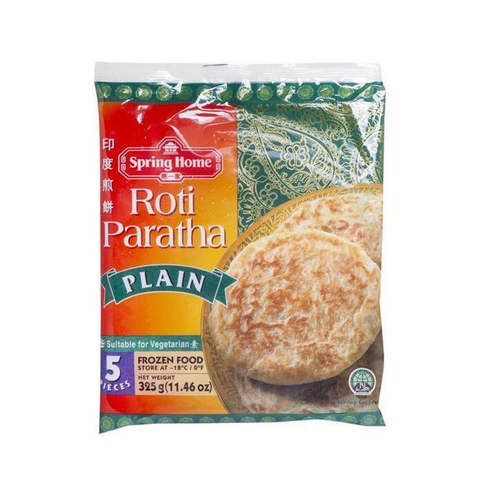 Spring Home Roti Paratha Plain 5 Stuks 325g (325g)