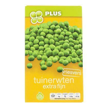 Tuinerwten (doos, 450g)