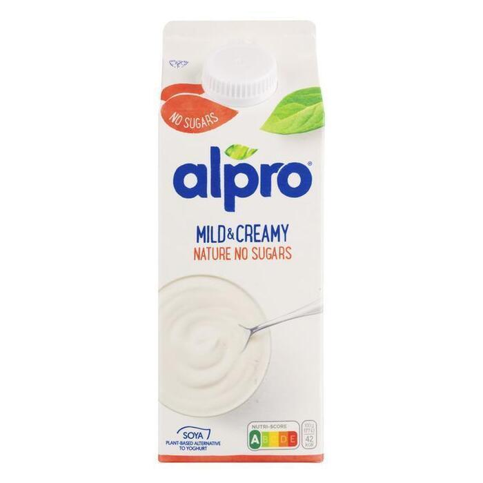 Mild & Creamy Naturel Ongezoet (pak, 0.75L)