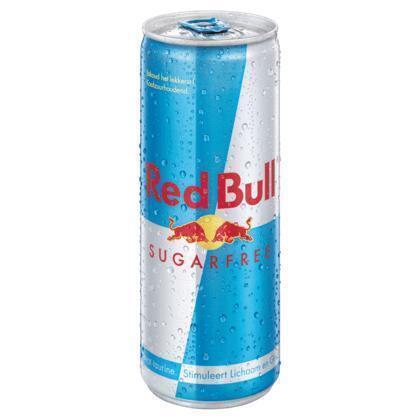 Red Bull Sugarfree (rol, 25 × 250ml)