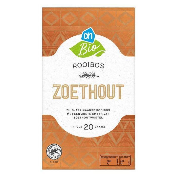 AH Biologisch Rooibos zoethout