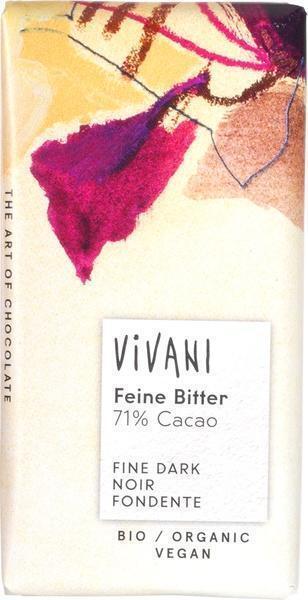 Mini-chocoladetablet puur 71% cacao (12.5g)