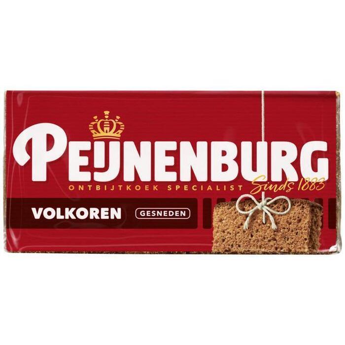 Peijnenburg Ontbijtkoek volkoren gesneden (280g)