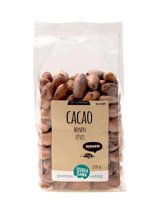 RAW Cacao Bonen TerraSana 225g (225g)
