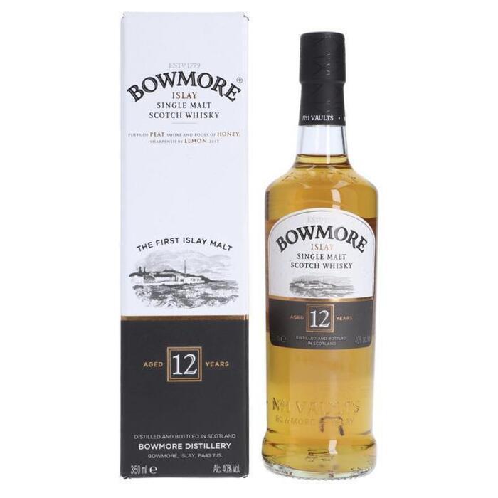 Bowmore Single malt Scotch whisky 12 years (rol, 35cl)