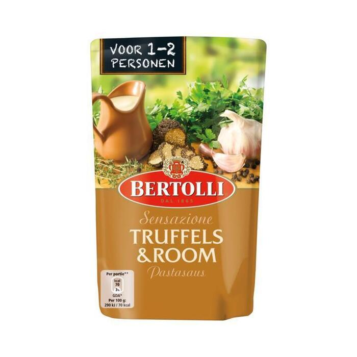 Truffels & room pastasaus (zak, 260g)
