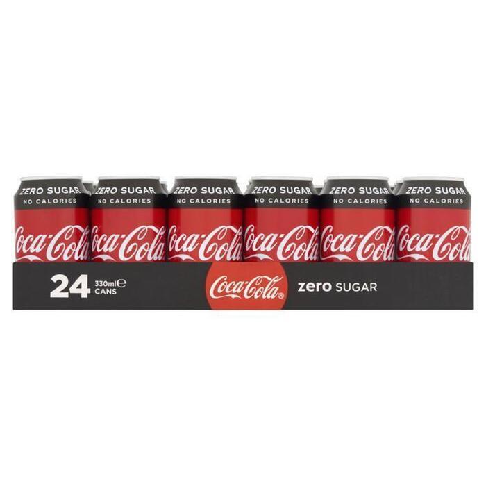 Coca-Cola Zero sugar tray (24 × 33cl)