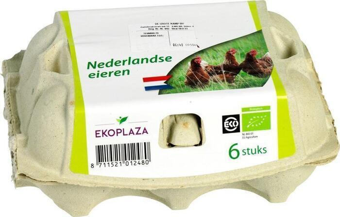 Nederlandse eieren (eierdoos)