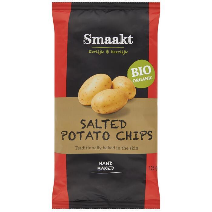Aardappelchips gezouten (Stuk, 125g)