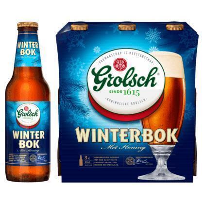 Grolsch Winterbok Speciaalbier (3 x 30cl) multipack (rol, 90 × 30cl)