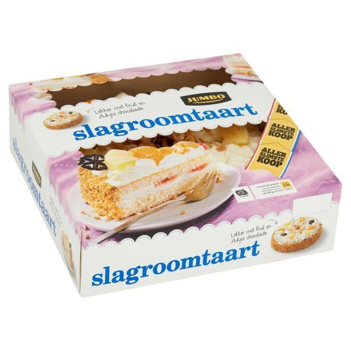 Jumbo Slagroomtaart Allerslimste Koop 1000g (1kg)