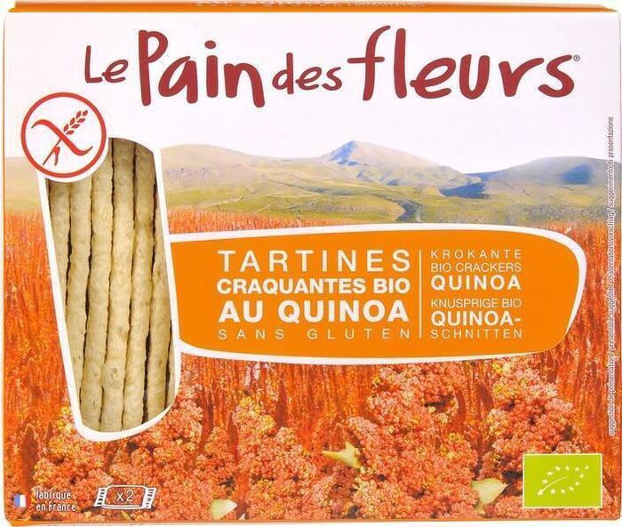 Quinoa crackers (doos, 150g)