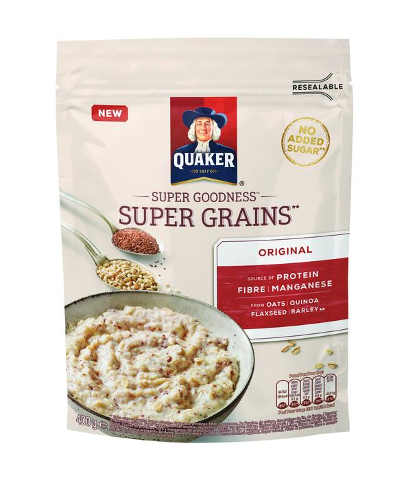 Quaker Super goodness super grains original (400g)