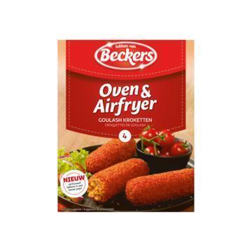 Beckers Oven & Airfryer Goulash Kroketten 4 x 80 g (4 × 80g)