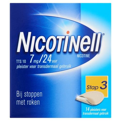 Nicotinell Pleister TTS 10 14 Stuks