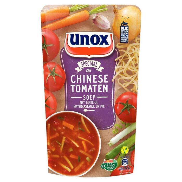 Unox Soep In Zak Chinese Tomatensoep (0.57L)