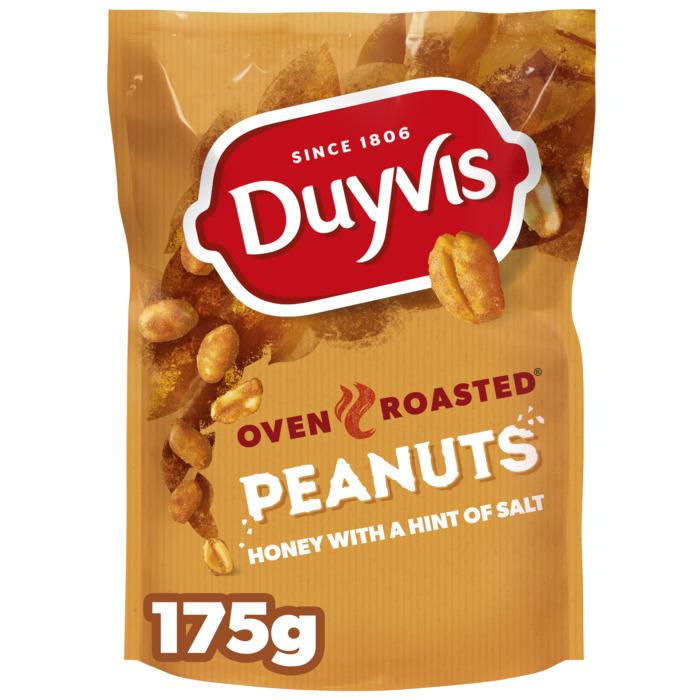 Oven Roasted Honey Peanuts (Stuk, 175g)