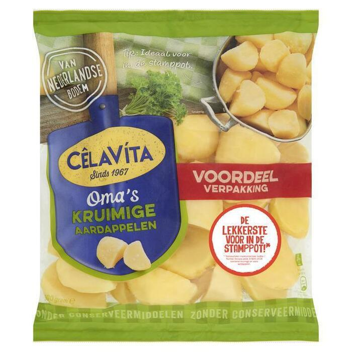 Oma's Aardappels Kruimig (zak, 900g)