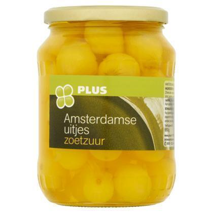 Amsterdamse uitjes zoetzuur (Pot, 0.72L)