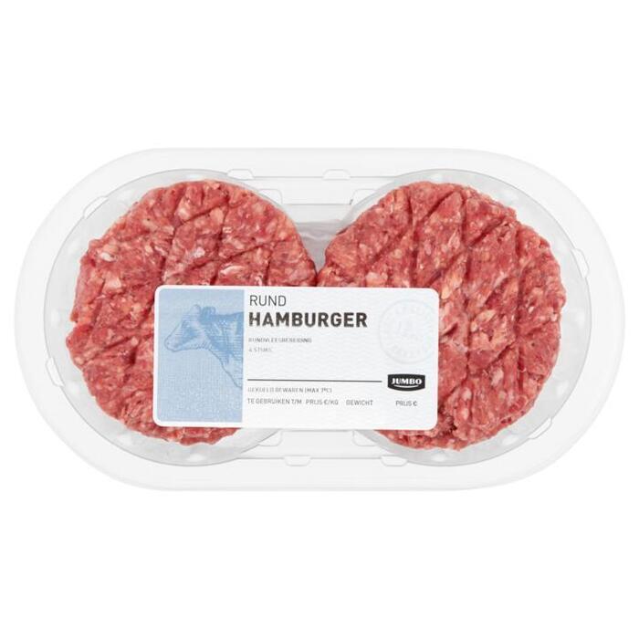 Jumbo Rund Hamburger 4 Stuks 440g (4 × 110g)