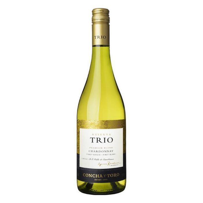 Trio Chard Pinot Grigio Pinot Blanc Reserva (glas, 0.75L)