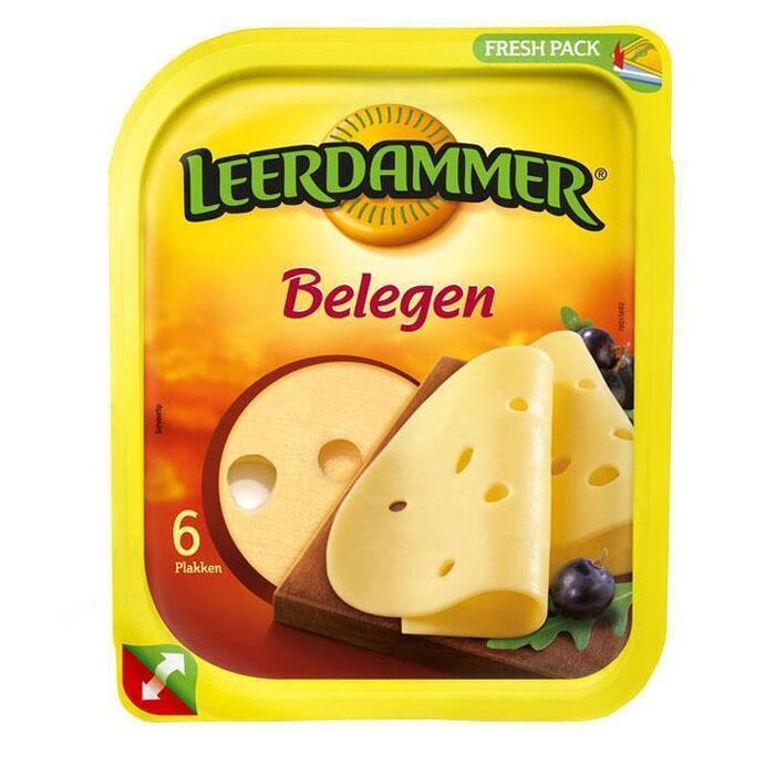 Belegen kaas plakken (bak, 150g)